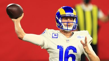 Goff's top throws as Rams beat Bucs