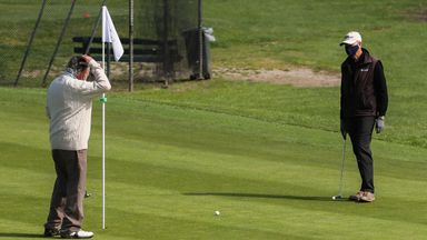 'Golf courses should be exempt from more lockdowns'