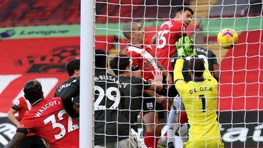 HT Southampton 2-0 Manchester Utd
