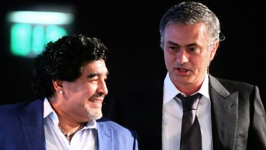 Jose: Maradona always called me after big defeats
