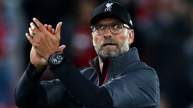 Klopp 'very happy in the circumstances'