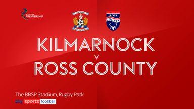 Kilmarnock 2-2 Ross County