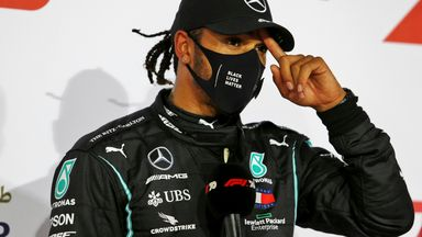 Questions for F1 after Hamilton positive test