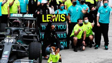 How has Hamilton thrived at Mercedes?