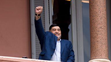 Fernandez: Maradona my hero