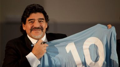 AVB: FIFA should retire 10 for Maradona