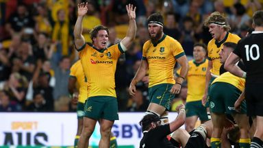Wallabies edge All Blacks in thriller