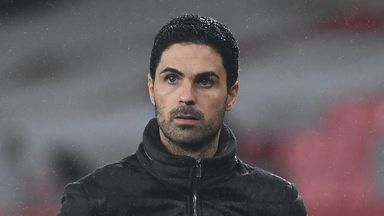 Arteta backs idea of 'concussion subs' after Luiz injury