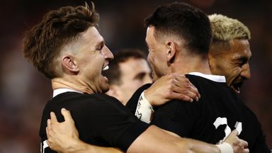 All Blacks blow Argentina away