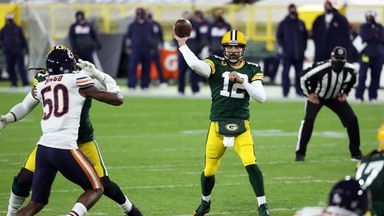 Rodgers' best throws from 4-TD game