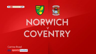Norwich 1-1 Coventry