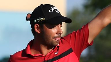Larrazabal's limp to Leopard Creek win