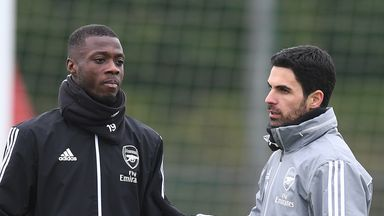 Arteta: Pepe must deal with demands