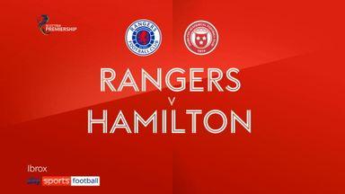 Rangers 8-0 Hamilton