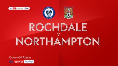 Rochdale 1-1 Northampton