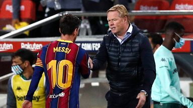 'Koeman's Barca job not under threat'