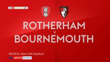 Rotherham 2-2 Bournemouth