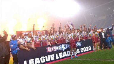 Wigan lift League Leaders' Shield