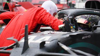 Vettel reveals what he said to Hamilton