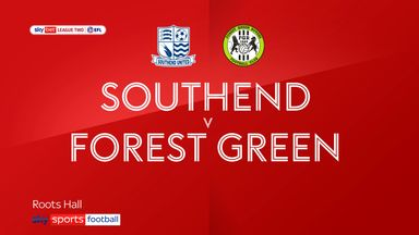 Southend 0-1 Forest Green