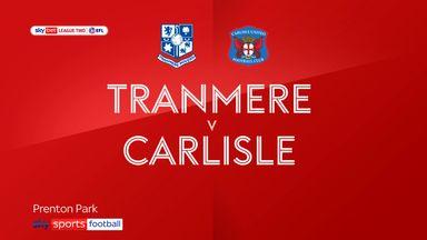 Tranmere 1-0 Carlisle