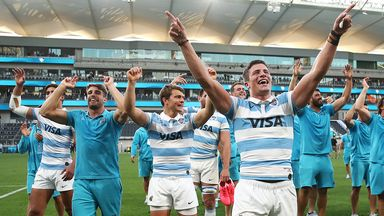 Pumas claim historic win over All Blacks