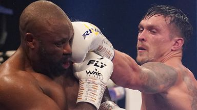 Usyk vs Chisora highlights