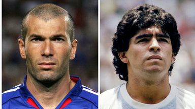 Zidane: Maradona was an inspiration