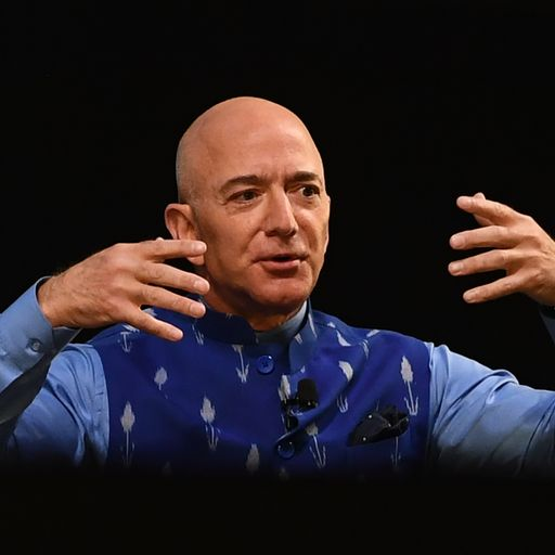 Jeff Bezos steps aside as Amazon chief but 'is not really going anywhere'