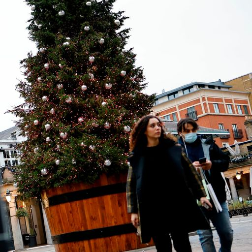 Still too early to know if households can mix over Christmas, minister says