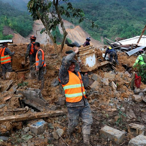Up to 150 feared dead in Guatemala landslide as devastating weather wreaks havoc