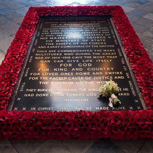 Unknown Warrior represented the mass of 'vanished lives'