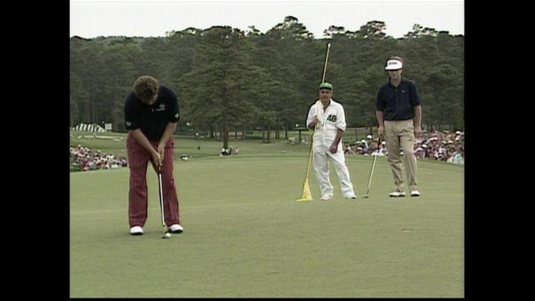 The Masters: 30 years since Ian Woosnam wins at Augusta and gets a lift from