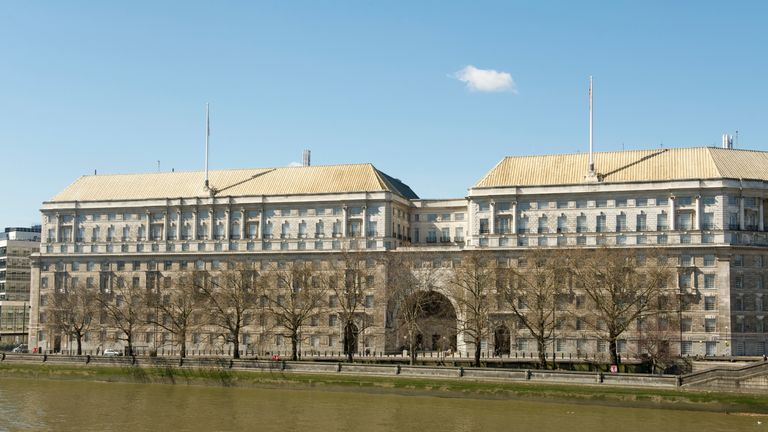 Mi5 Headquarters.