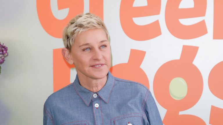 "LOS ANGELES, CALIFORNIA - NOVEMBER 03:  Ellen DeGeneres attends the premiere of Netflix's ""Green Eggs And Ham"" at Hollywood American Legion on November 03, 2019 in Los Angeles, California. (Photo by Tibrina Hobson/Getty Images)"