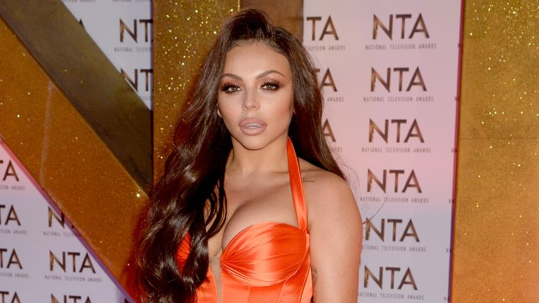 LONDON, ENGLAND - JANUARY 28: Jesy Nelson attends the National Television Awards 2020 at The O2 Arena on January 28, 2020 in London, England. (Photo by Dave J Hogan/Getty Images)