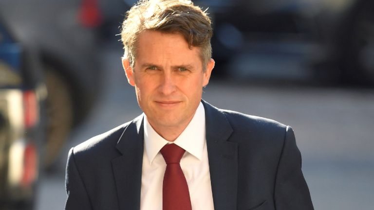 Education Secretary Gavin Williamson arrives at the Foreign and Commonwealth Office in London for a Cabinet meeting, ahead of MPs returning to Westminster after the summer recess.