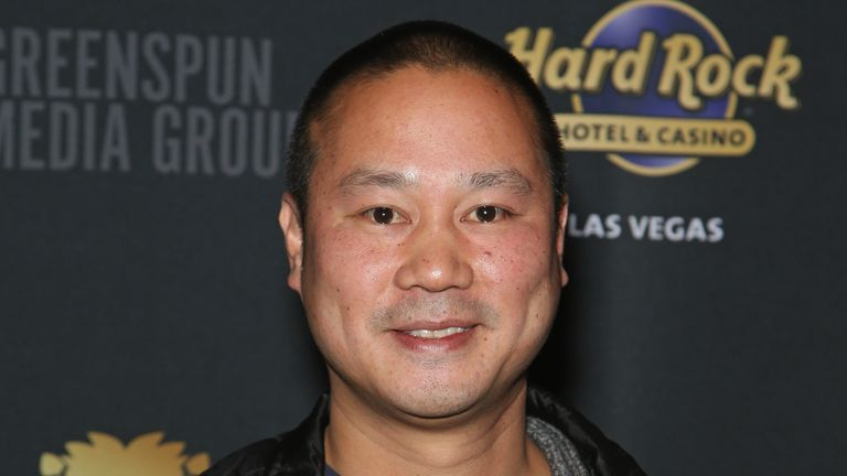LAS VEGAS, NV - DECEMBER 14:  Zappos.com CEO Tony Hsieh attends the Mondays Dark 2nd anniversary at The Joint inside the Hard Rock Hotel & Casino on December 14, 2015 in Las Vegas, Nevada.  (Photo by Gabe Ginsberg/WireImage)