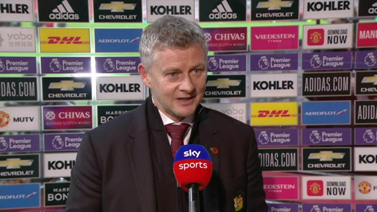 Manchester United boss Ole Gunnar Solskjaer admitted they didn't even turn up against Arsenal in the first half