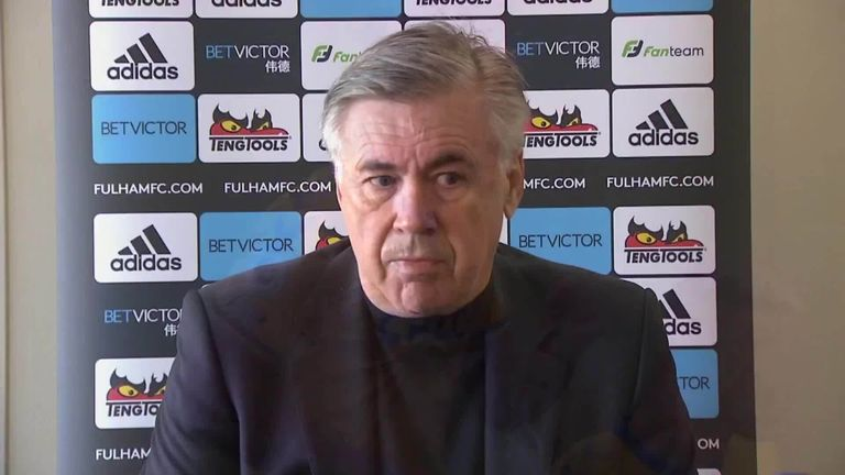 Carlo Ancelotti admits he is surprised by Dominic Calvert-Lewin's consistency