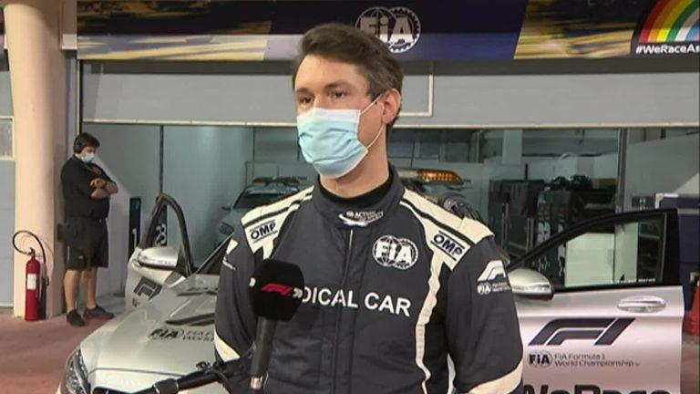 Romain Grosjean's miracle escape from fireball Haas crash at Bahrain GP