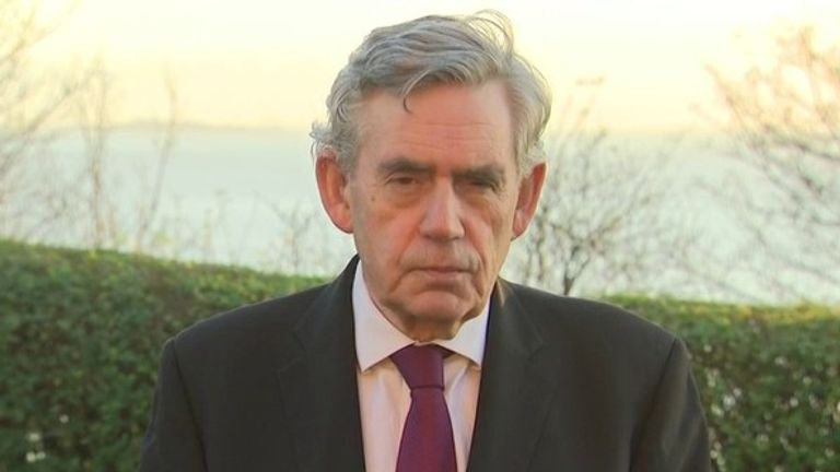 Former prime minister Gordon Brown say Jeremy Corbyn should apologise over antisemitism before rejoining the parliamentary party.