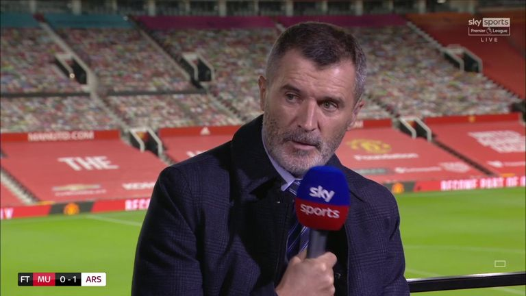 Roy Keane says Manchester United lacked quality and leadership across the whole team and is worried about the future of the club.