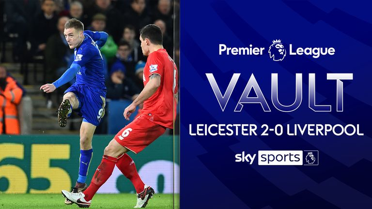 Ahead of their clash live on Sky Sports we take a look back at Leicester's 2-0 win over Liverpool in 2016, including a stunning strike from Jamie Vardy