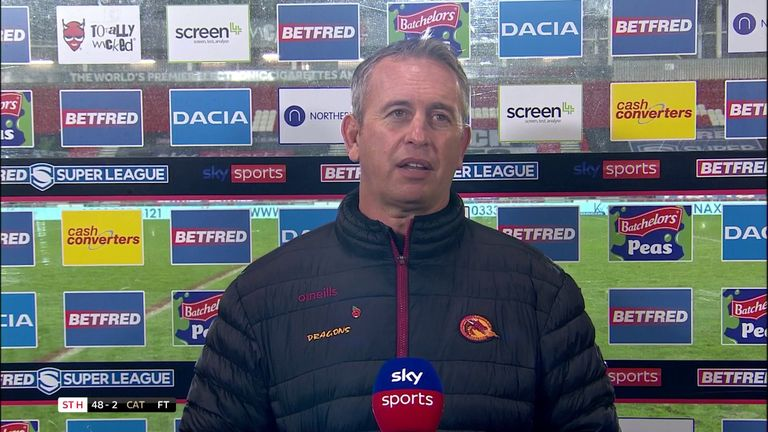 Steve McNamara felt it was a harsh end to Catalans' season after they went down 48-2 to St Helens