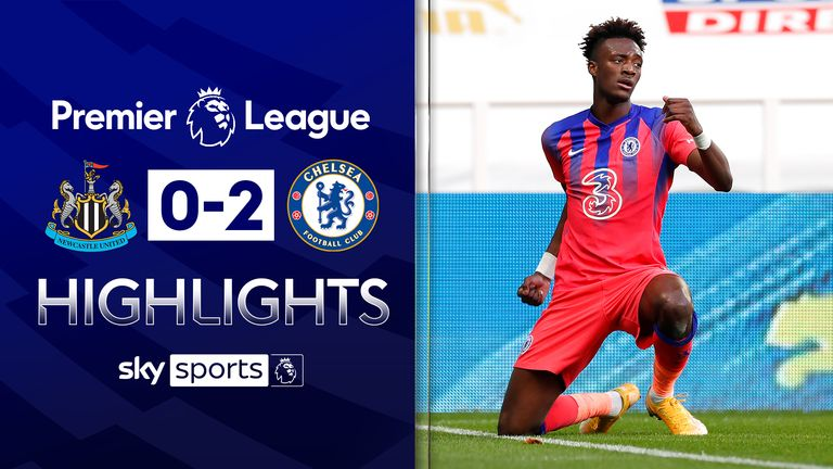 FREE TO WATCH: Highlights of Chelsea's win against Newcastle in the Premier League
