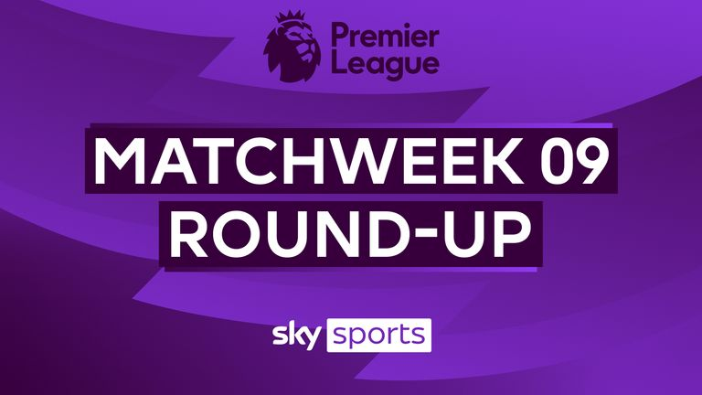 A round-up of all the games from matchweek nine in the Premier League.