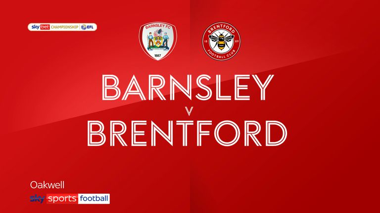 Highlights of the Sky Bet Championship match between Barnsley and Brentford
