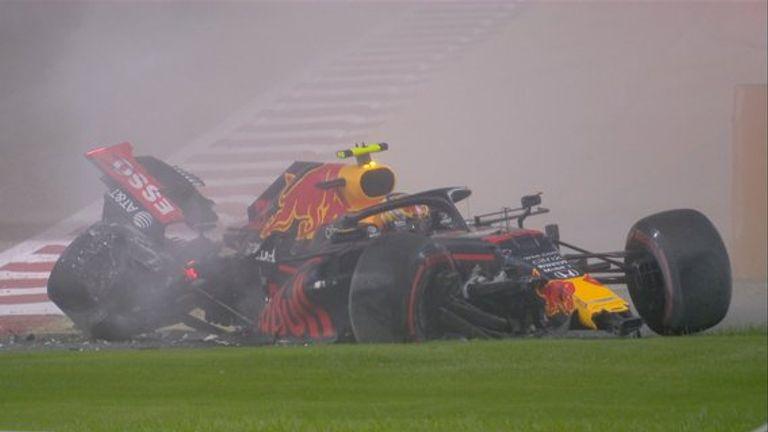 Bahrain GP: Lewis Hamilton fastest, Alex Albon crashes, in Practice Two