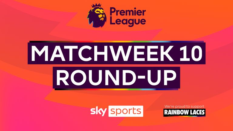A round-up of all the games from matchweek ten in the Premier League